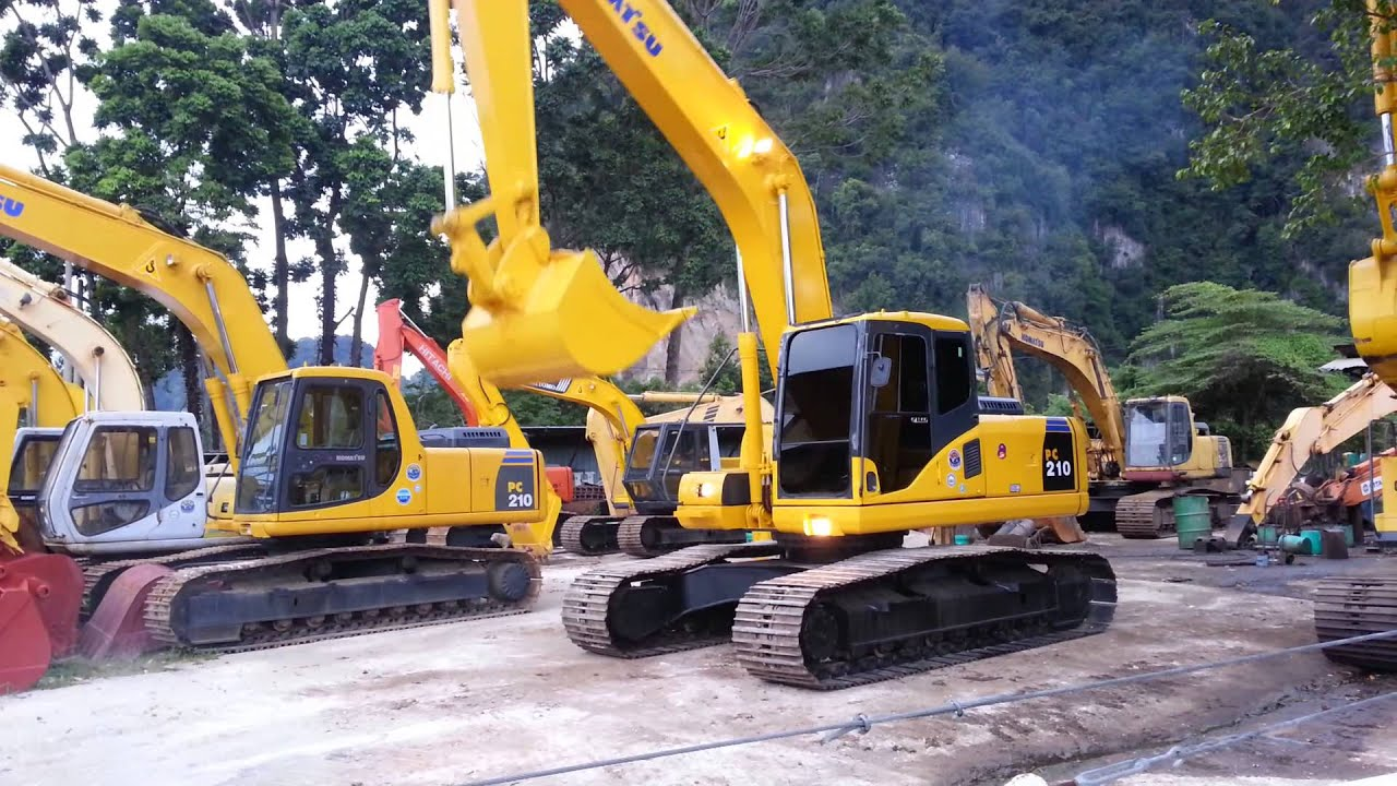 Komatsu Pc200 7 K419xx Excavator