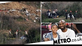 Bodies recovered from site of Kobe Bryant helicopter crash