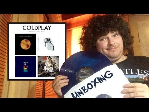 Unboxing (Italian) - Coldplay - 4CD Catalogue Set