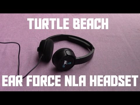 Turtle Beach Ear Force NLa Headset Review (AKIO TV)