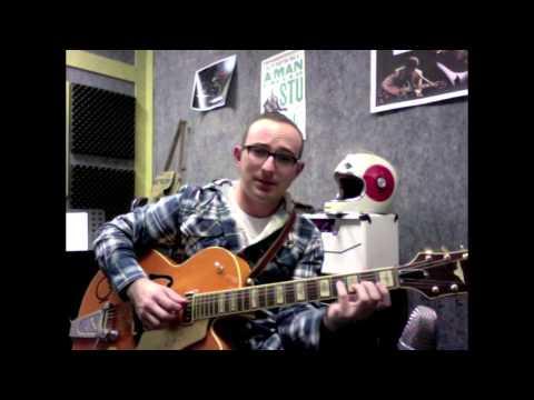 Swing Guitar Chord Tutorial - Ain't Misbehavin' - Adrian Whyte