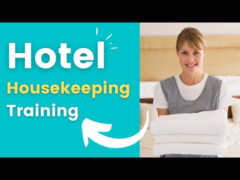 Hotel Housekeeping | Online Courses | Magnifying Class