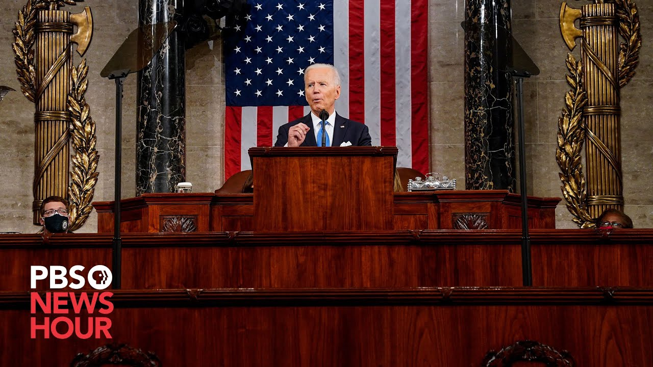 WATCH: All the key moments from Biden's address to Congress in less than 10 minutes