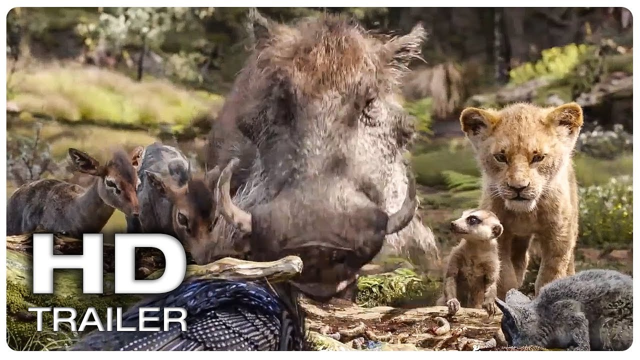 The Lion King Timon And Pumba Help Simba Trailer New 2019 Disney Live Action Movie Hd