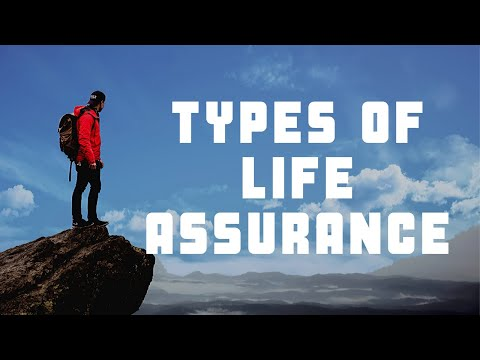 6. Types of Life Assurance