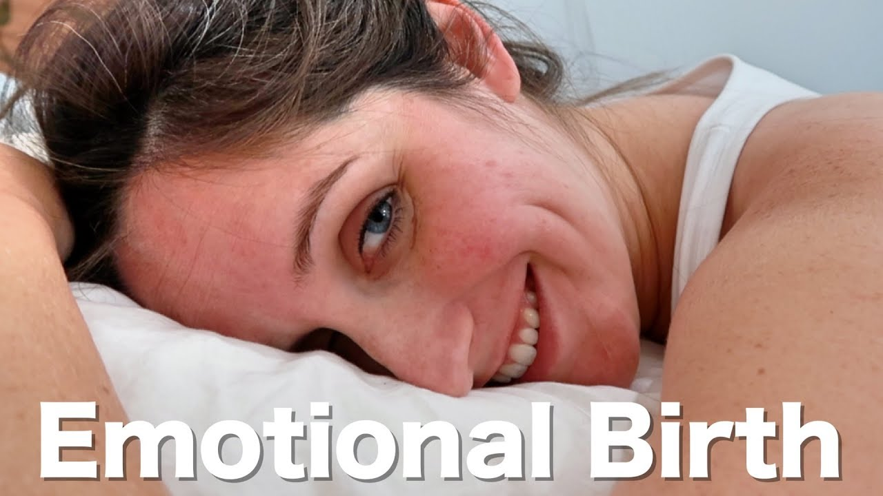 give birth at home naturally emotional birth vlog normal delivery