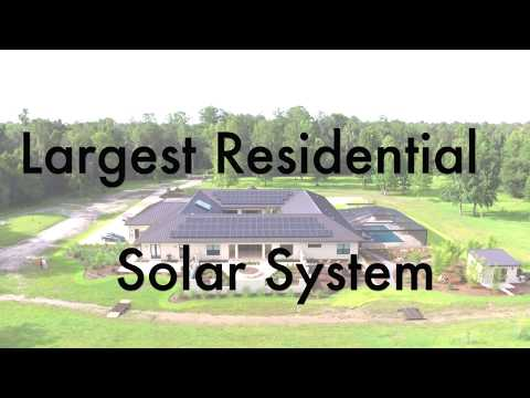 Largest Residential Solar System in Gainesville, FL