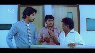 Kuri Prathap & Prajwal insult by heroine | New Kannada Comedy Scenes | Gokula Krishna Movie