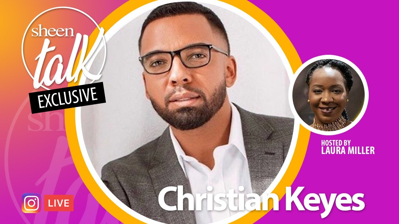 Download Christian Keyes Goes LIVE with  Laura Miller and Sheen Magazine | Sheen Talk Live