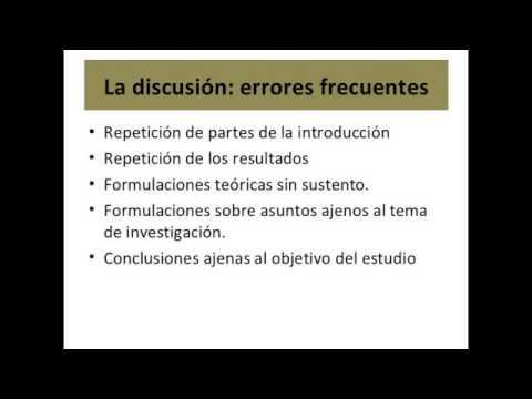 Como hacer una discusion bibliografica