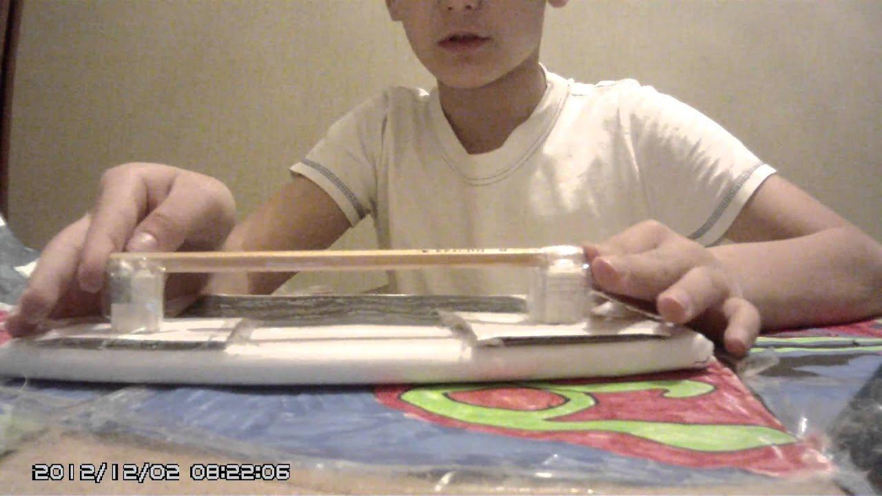 Как сделать свой фингерпарк 80
