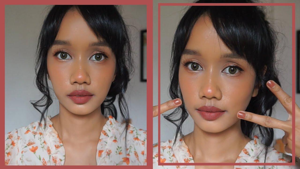 Makeup Reddish Brown di Kulit Sawo Matang