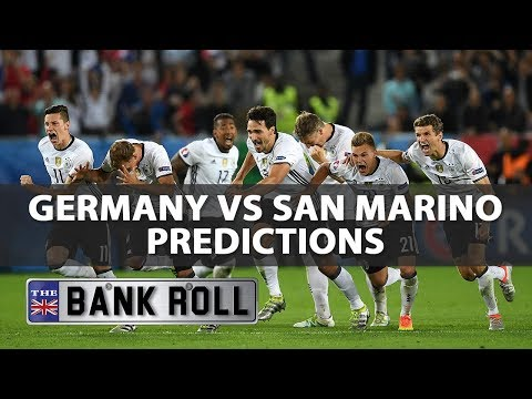 Germany vs San Marino | 10/06/17 | WC Qualifiers EUROPE Predictions