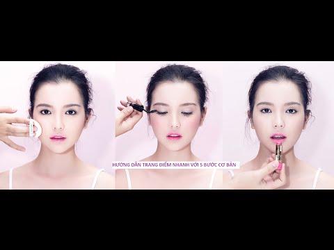 Make Up Class Trang điểm cực nhanh chỉ trong 5 bước đơn giản