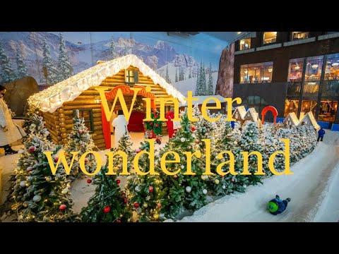 Winter wonderland Dubai |fun place for kids| experience winter fun in Dubai