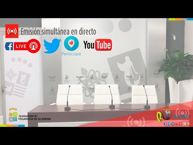 Presentación del proyecto de unión de Don Benito y Villanueva de la Serena