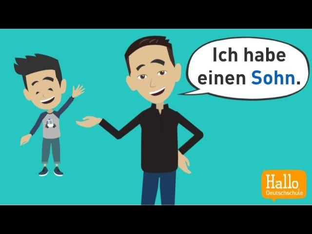 Deutsch lernen für Anfänger | Grammatik: Akkusativ, Wechselpräpositionen, Artikel, trennbare Verben