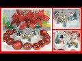 DIY Winter Wine Glass Snow Globe/ Christmas Decor #7