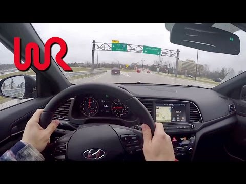 2017 Hyundai Elantra Sport (DCT) - POV Test Drive & Review