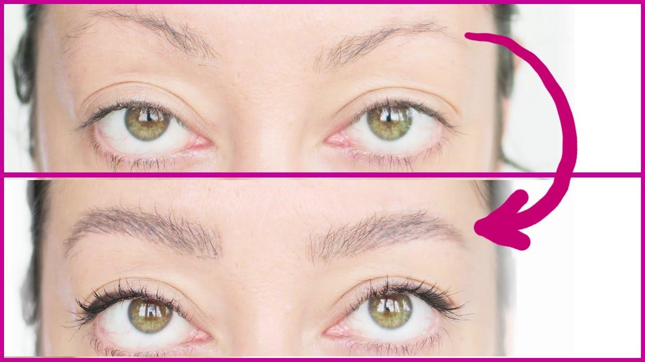 Augenbrauen Schminken Voll Und Natürlich Auch Für Dünne Brauen