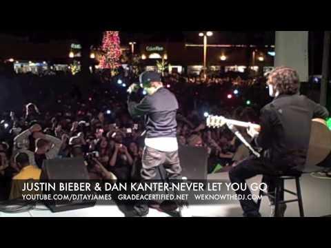 JUSTIN BIEBER & DAN KANTER-NEVER LET YOU GO-L.A