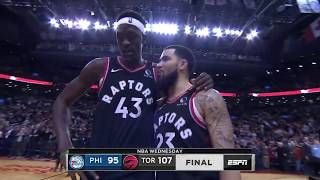 Toronto Raptors vs Philadelphia 76ers | January 22, 2020