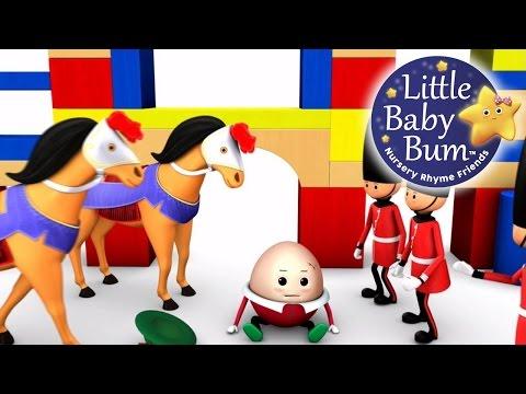 Humpty Dumpty | Part 1 | Nursery Rhymes | By LittleBabyBum!