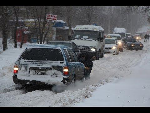 В Волгограде снегопад вызвал «конец света» и паралич власти