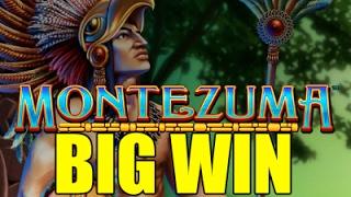 Online slots HUGE WIN 2.1 euro bet - Montezuma BIG WIN