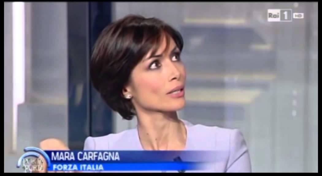 Mara Carfagna A Porta A Porta 16 Gennaio 2014