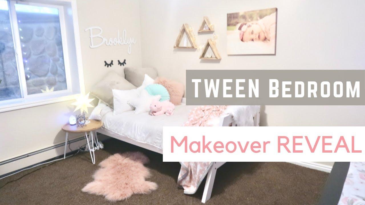 Cute Teen Bedroom Happy Birthday Brooklyn Tween Girls Reveal Youtube
