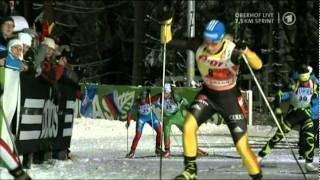 Magdalena Neuner - 27th World Cup win - Oberhof Sprint, Jan 2012
