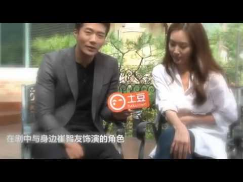 loving moments of Kwon Sang-woo and Choi Ji-woo
