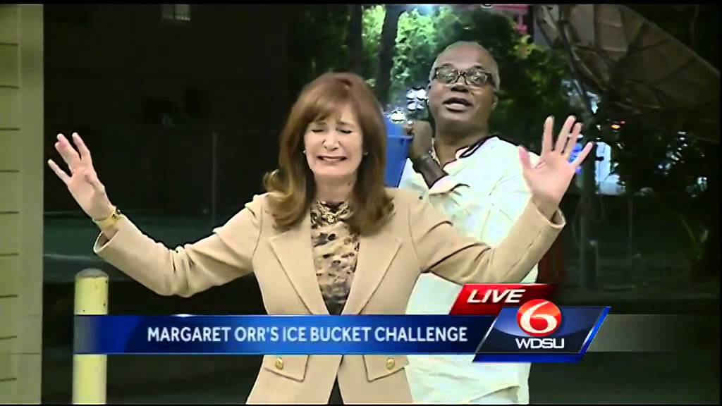 Margaret Orr Does The Ice Bucket Challenge Youtube
