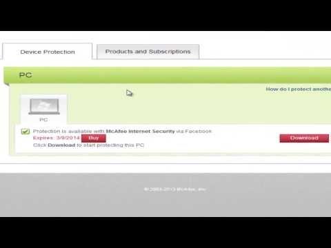 Como instalar el antivirus McAfee y conseguir una licencia gratis válida para 6 meses de forma legal