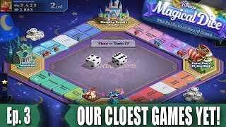 Our Closest Games Yet + New High Score! - Disney's Magical Dice: The Enchanted Board Game - Ep. 3