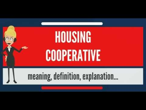What is HOUSING COOPERATIVE? What does HOUSING COOPERATIVE mean? HOUSING COOPERATIVE meaning