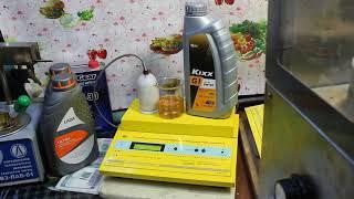 Масло Kixx G1 5W-40 SN проверка CCS при.. -30гр.