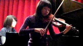 Xuanlin Playing F. Seitz Violin Concerto No. 3, Opus 12, 1st Movement