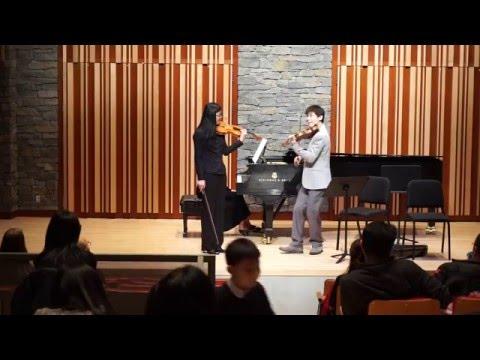 Violin Masterclass with Angelo Xiang Yu- Mozart Violin Concerto No.4 in D major, K.218