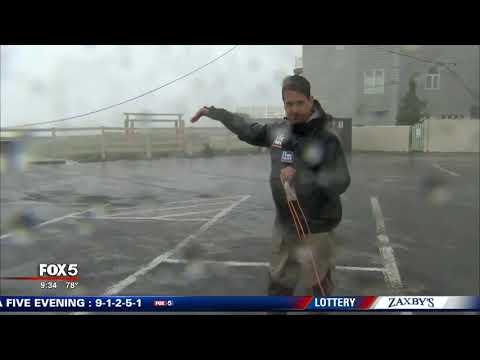 Florence destroys landmark pier in Atlantic Beach