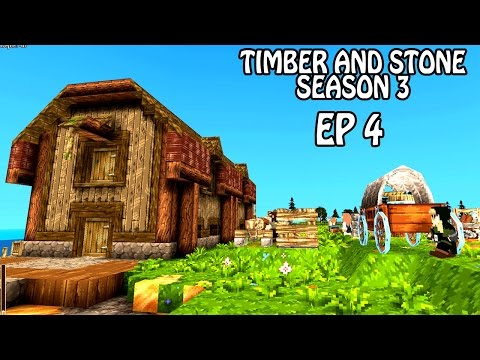 Migrants and Goblins   Timber and Stone Gameplay   Part 4