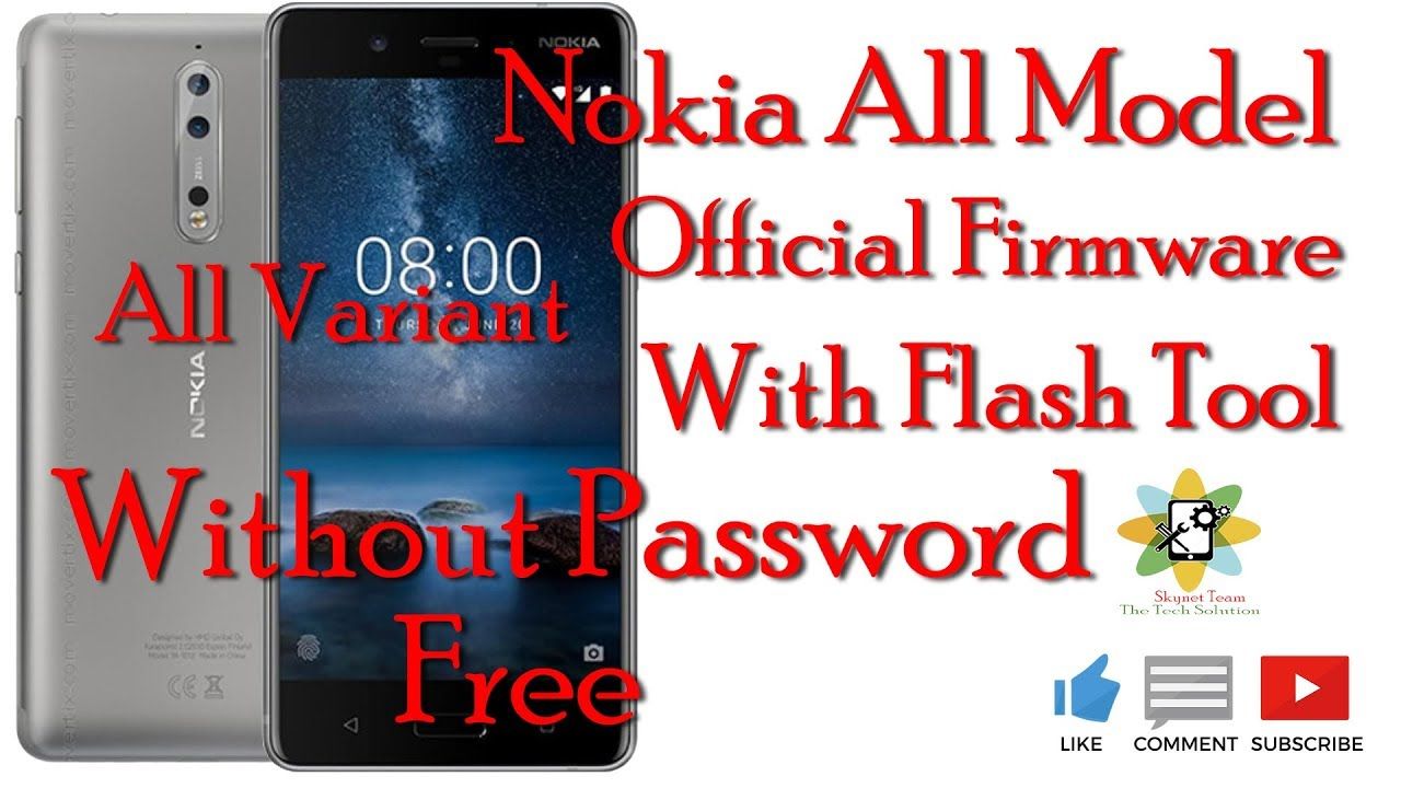 Nokia All Model Variant Official Firmware Free #1