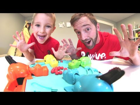 Thumbnail: Father & Son PLAY HUNGRY HUNGRY HIPPO!