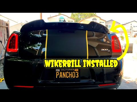 How to install wikerbill on chrysler 300s mods
