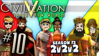 Civilization 5 2v2v2 - #10 - Cold Pizza Pocket