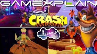NEW Crash Bandicoot Sequel Created in Dreams & It's Incredible! (Crash Tripsanity)