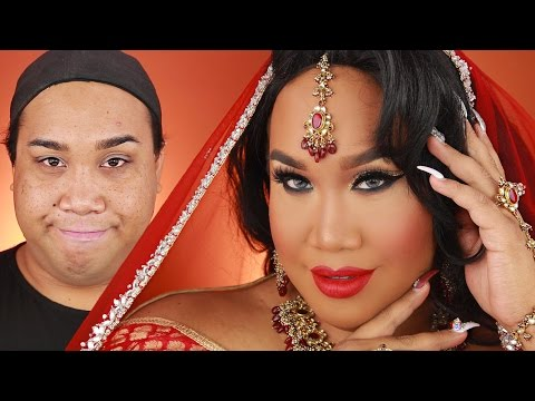 INDIAN BRIDAL WEDDING MAKEUP TUTORIAL | PatrickStarrr