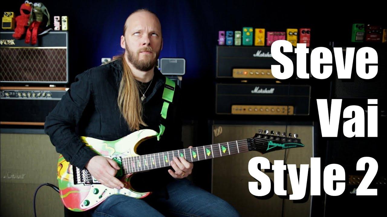 Steve Vai Style Jam 2