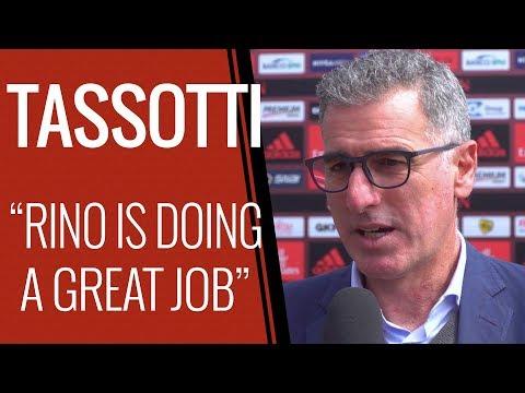 """Tassotti: """"Gattuso sta facendo un gran lavoro"""""""